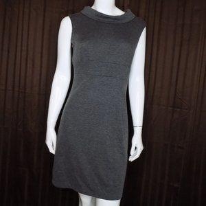 Alyn Paige Grey Shift Dress Knit Size Medium